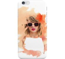 taylor swift 1989 watercolor  iPhone Case/Skin