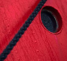 Porthole and rope by David Hall