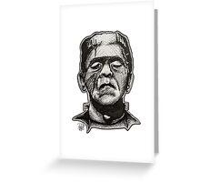 Frankenstein pen drawing! Greeting Card