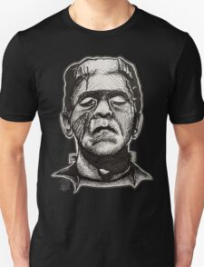 Frankenstein pen drawing! T-Shirt