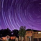 Startrails over House and Gums by Greg Ting