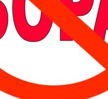 Stop SOPA Sticker
