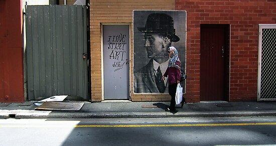 I Love Street Art Du U Tu by Gerijuliaj