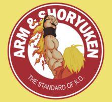 Arm & Shoryuken. The Standard of K.O. Kids Clothes