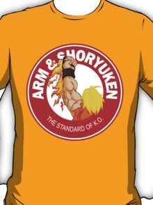 Arm & Shoryuken. The Standard of K.O. T-Shirt