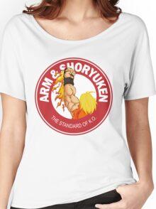 Arm & Shoryuken. The Standard of K.O. Women's Relaxed Fit T-Shirt