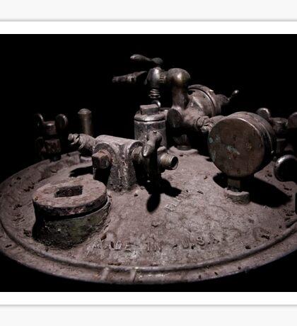 Old Mine Equipment Steam Punk Sticker