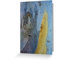 Squigley bark on Gum tree-Megalong Valley Greeting Card