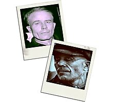 Ed Gein Double Photo Stack Photographic Print
