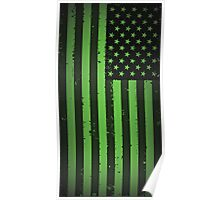American idiot flag- Green Day Poster