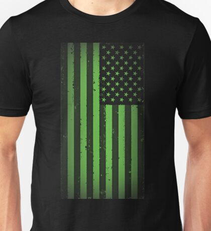 American idiot flag- Green Day Unisex T-Shirt