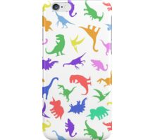 Fun Dinosaur Pattern iPhone Case/Skin