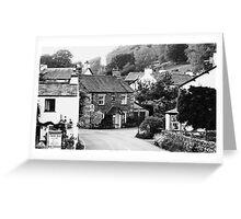 Beatrix Potter Country ~ Near Sawrey, Cumbria Greeting Card