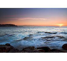 South Bondi at Sunrise  Photographic Print