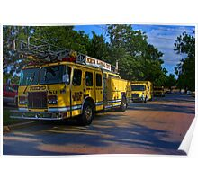 North Kansas City, Missouri Fire Department Vehicles Poster