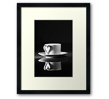 I'd love a cup of tea… Framed Print