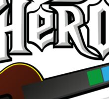 Ukulele Hero Sticker