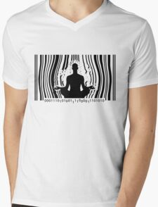 Break Free ! Mens V-Neck T-Shirt