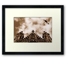 Heavens above Framed Print