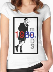 Mods 1960's Women's Fitted Scoop T-Shirt