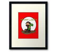 Imagination Mash-up Framed Print