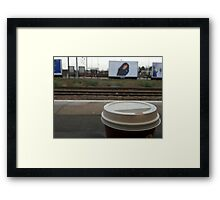 It's dangerous to go alone... here, take this.   Framed Print