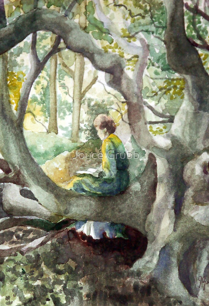 Ancient forest glade by Joyce Grubb