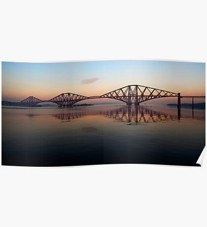 Forth Rail Bridge - Ribbon Across The Sky Poster