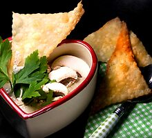 Love 4 Champignon Soup With Strudel Chips by SmoothBreeze7