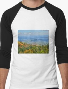 Blue ridge parkway Men's Baseball ¾ T-Shirt