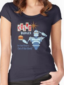 COSMO BURGER! Women's Fitted Scoop T-Shirt