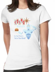 COSMO BURGER! Womens Fitted T-Shirt