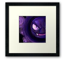 Gastly Used Night Shade!  Framed Print