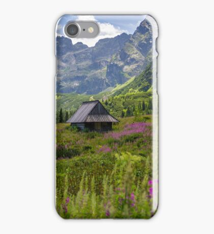 Sunny Day In The Tatra Mountains iPhone Case/Skin