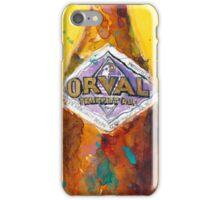 Orval Trappist Ale Beer Watercolor - Belgium Beer Art Print  iPhone Case/Skin