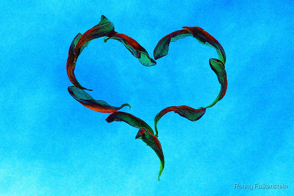 Love is everything #2 by Ronny Falkenstein