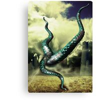 The Thing Lurking Behind Reality Canvas Print