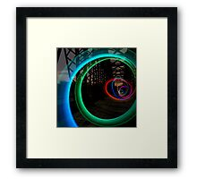 Spiral Equation Framed Print