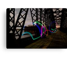 Bridge Amusement Canvas Print
