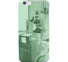 X-Ray Technician - Inverted Green iPhone Case/Skin
