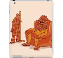 Chewy's Day Off iPad Case/Skin