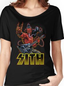 SATAN IN THE HOUSE! Women's Relaxed Fit T-Shirt