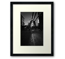 Angle of Reflection - Blackpool, Fylde, Lancs, UK Framed Print