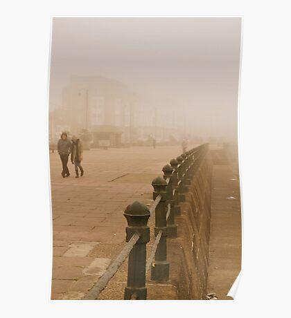 Romantic stroll. Poster