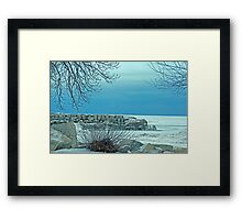 """Winter Blues"" Framed Print"