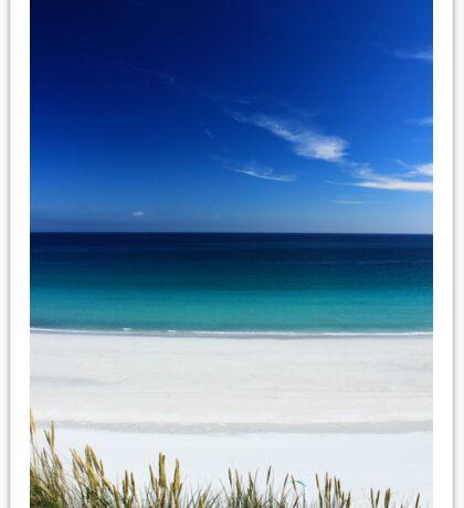 Paradise beach Sticker