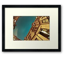 Glasgow's East End Framed Print