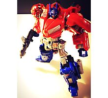 Transformers Generation Optimus Prime Photographic Print