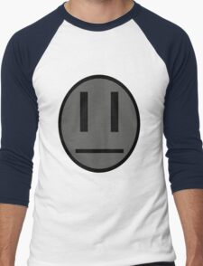 Invader Zim Dib emoticon shirt Men's Baseball ¾ T-Shirt