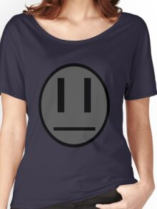 Invader Zim Dib emoticon shirt Women's Relaxed Fit T-Shirt